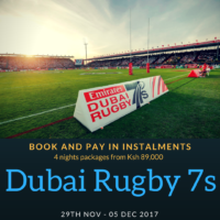 5 Day Dubai Rugby Sevens Package