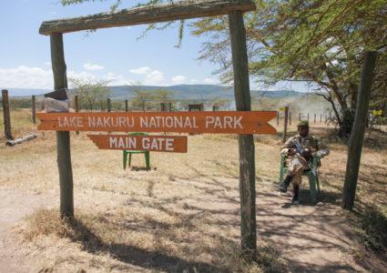 Lake Nakuru Main Gate