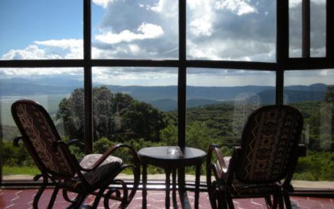 Ngorongoro Sopa Lodge Patio