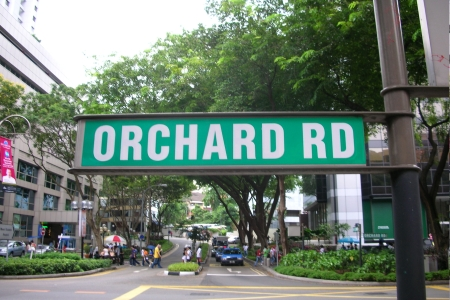 Orchard Road Shopping Street