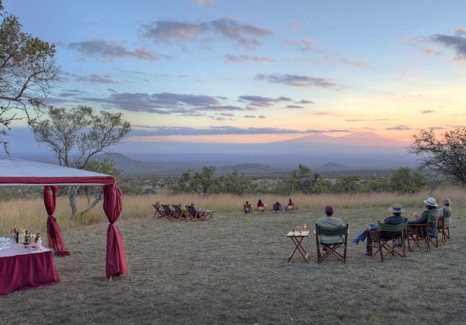 3 Day Luxurious Tsavo West Safari (Flying Package)